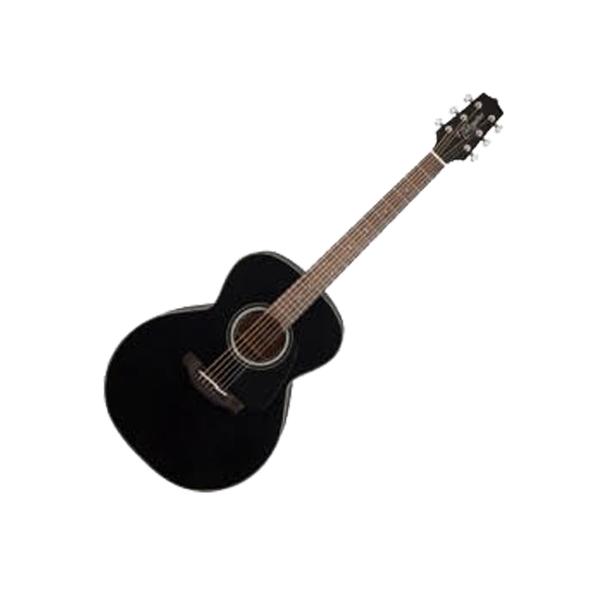 Large takamine gn30 blk nex acoustic guitar  black