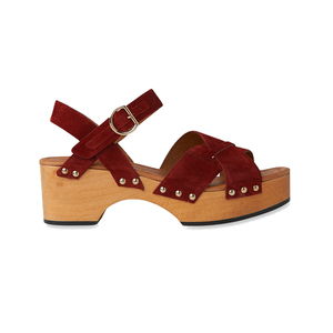 Medium whistles hanson suede clog