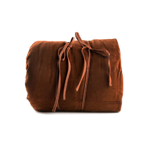 Medium the elder statesman suede and cashmere sleeping bag