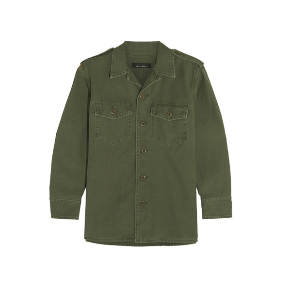 Large kate moss for equipment major cotton jacket