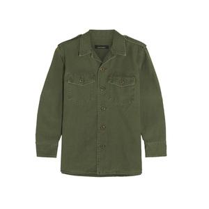 Medium kate moss for equipment major cotton jacket