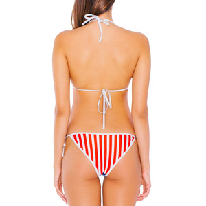 Medium american apparel flag bikin