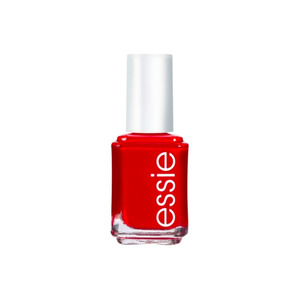 Medium essie red nail