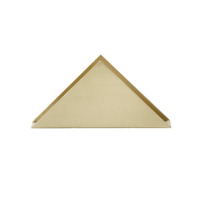 Medium ferm living brass triangle stand