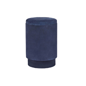 Medium michael verheydensuede storage stool   navy