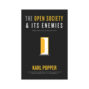 Medium opening society by karl popper