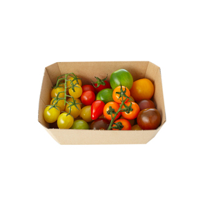 Medium the tomato stall heritage tomato selection punnet  500g  planet organic