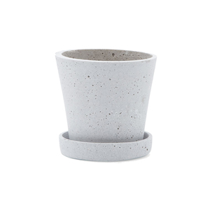 Medium hay small flowerpot