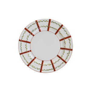 Medium large laboratorio paravicini bacchette ceramic plate artemest