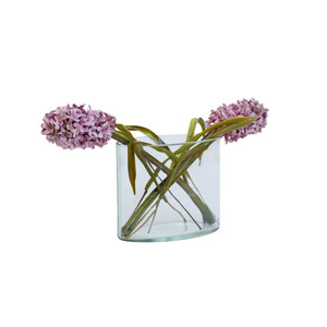 Medium lilla tabasso hyacinth glass bouquet artemest