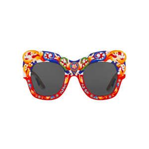 Medium dolce and gabbana hand painted carretto sunglasses