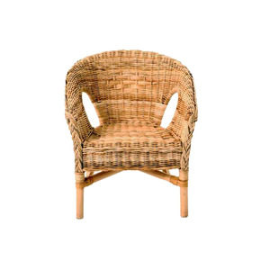 Medium dunelm java wicker chair