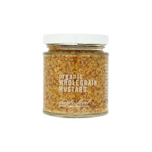 Medium daylesford organic wholegrain mustard 170g