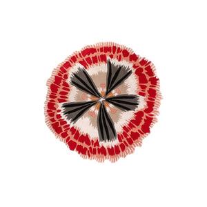 Medium missoni botanica round rug salmone salmone 110cm dia
