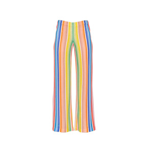 Medium missoni vertical stripes viscose knit pants luisaviaroma