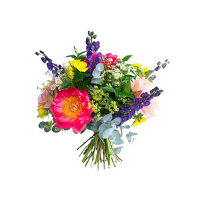 Medium floom vibrant summer posy