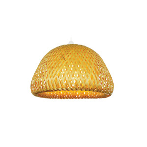 Medium loxton lighting wicker bowl pendant shade