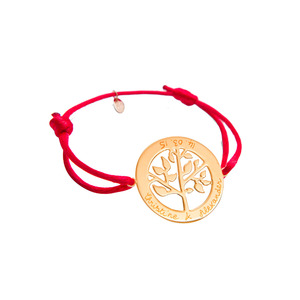 Medium merci maman boutique personalised tree of life bracelet