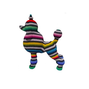 Medium jan huling missoni poodle