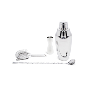 Medium kaufmann mercantile japanese stainless steel cocktail set