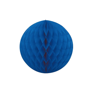 Medium party peices paper balloon blue