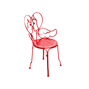 Medium ange chair jean charles de castelbajac poppy