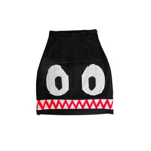 Medium black cashmere skirt jc de castelbajac