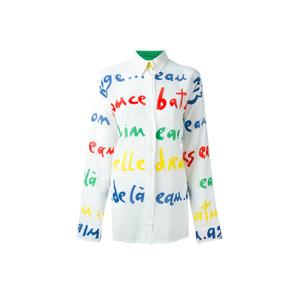 Medium jc de castelbajac vintage letter print shirt