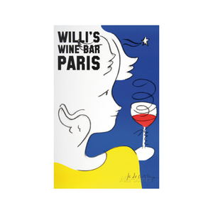 Medium jean charles de castelbajac willi s wine bar 2005 ebay