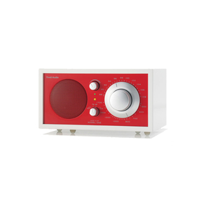 Medium model one  limited edition collection am fm table tivoll model one limited red banner