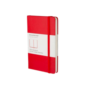 Medium red moleskine large