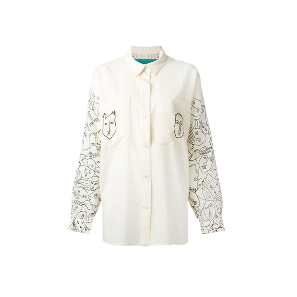 a10c08cb313cb5 JC de Castelbajac - Face print shirt - Semaine