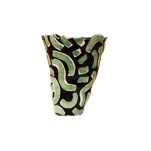 Medium jessica hans lime squiggle vase sincerely tommy