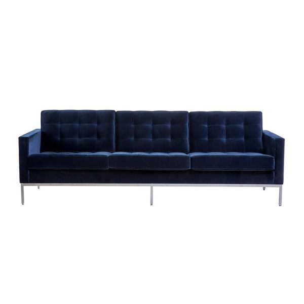 Large florence knoll 3 seat sofa