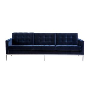 Medium florence knoll 3 seat sofa