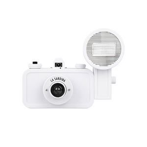 Medium camera white