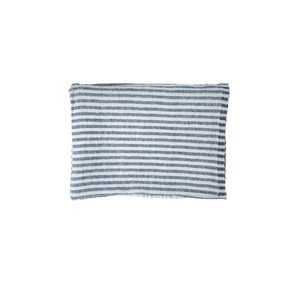 Medium stripe linen bath towel blie the conran shop