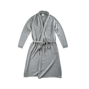 Medium cashmere robe