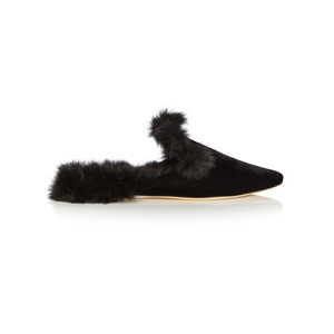 Medium sanayi 313   la contessa velvet slippers