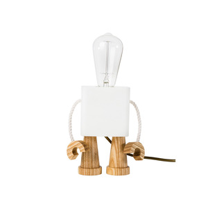 Medium matt pugh   robot light white
