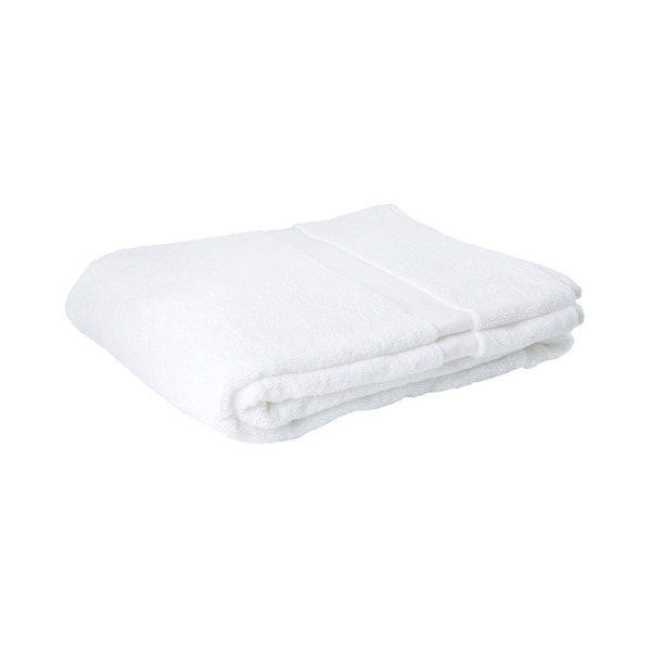 Large white bath towel   conran shop