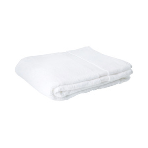 Medium white bath towel   conran shop