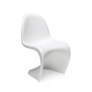 Medium panton chair white verner panton
