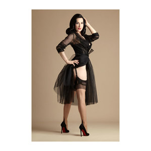 Medium dita glamour french heel