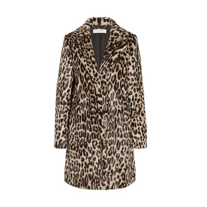 Medium stella mccartney   leopard print coat