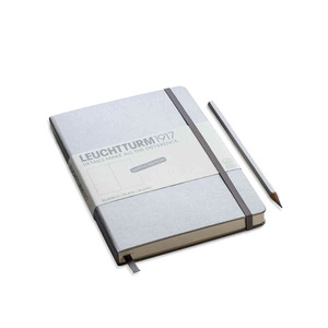 Medium notepad silver
