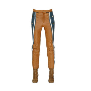 Medium chloe  leather trousers