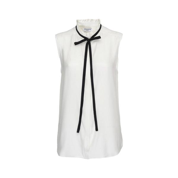 Large frame blouse
