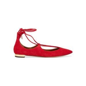 Medium aquazzura christy point toe shoes