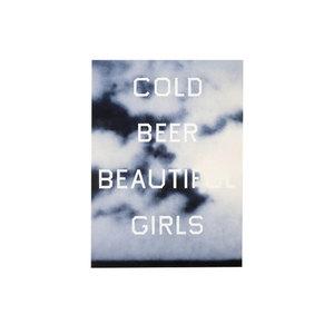 Medium claudia schiffer 2016 edward ruscha cold beer  beautiful girls